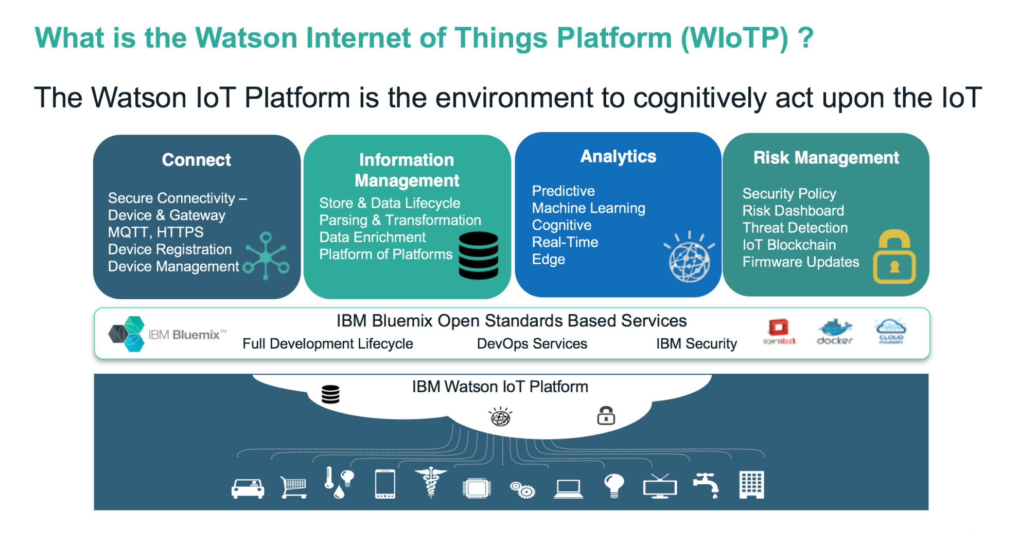 Webcast: IoT use-cases with IBM Watson IoT Platform
